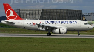 D-AVYY - Airbus A319-132 - Turkish Airlines