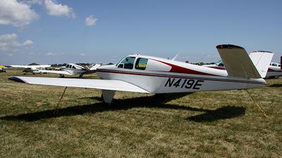 A picture of N419E - Beech 35 Bonanza - [D1425] - © Bruce Leibowitz