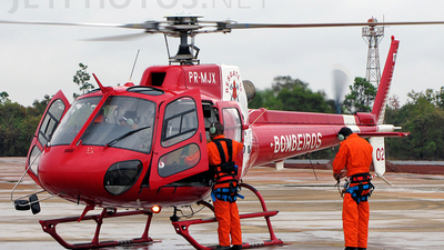PR-MJX - Eurocopter AS 350B2 Ecureuil - Brazil - Military Firefighters