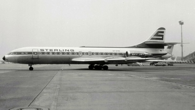 OY-STM - Sud Aviation SE 210 Caravelle 10B3 - Sterling Airways