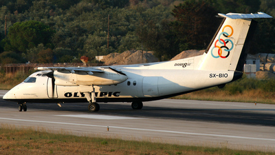 SX-BIO - Bombardier Dash 8-102A - Olympic Airlines