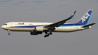 JA627A - Boeing 767-381(ER) - All Nippon Airways (ANA)