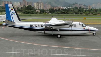 HK-1771-G - Rockwell 690A Turbo Commander - Colombia - Instituto Geografico Agustin Codazzi