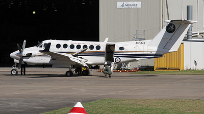 A picture of A32343 - Beech 300 Super King Air 350 - [FL343] - © Brenden