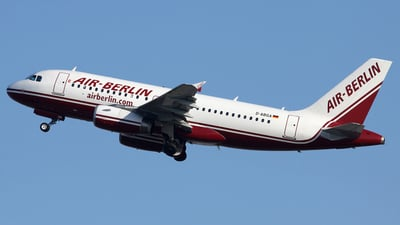 D-ABGA - Airbus A319-132 - Air Berlin