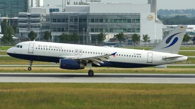 D-ANND - Airbus A320-232 - Blue Wings