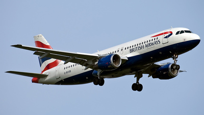 G-BUSB - Airbus A320-111 - British Airways