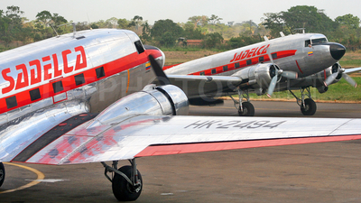 HK-2494 - Douglas DC-3 - Sadelca - Servicio Aéreo del Caquetá