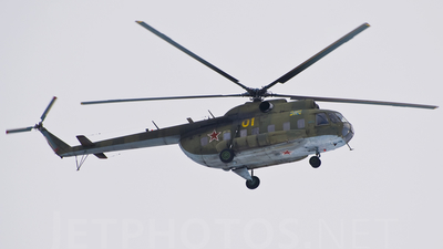 01 - Mil Mi-8PS Hip - Russia - Air Force