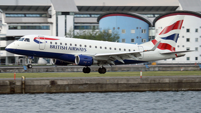 G-LCYF - Embraer 170-100STD - BA CityFlyer