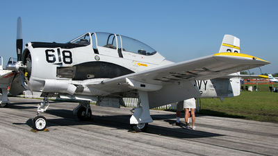 N194RR - North American T-28B Trojan - Private