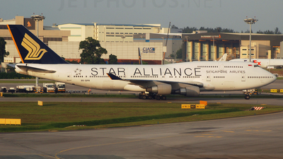 9V-SPR - Boeing 747-4H6 - Singapore Airlines