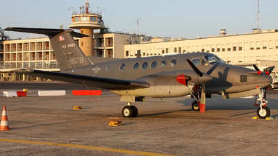 A picture of N57B - Beech C12 Huron -  - © if