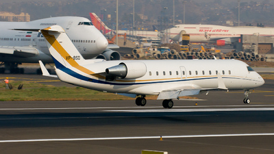 VP-BSD - Bombardier CL-600-2B19 Challenger 850  - ExecuJet Middle East