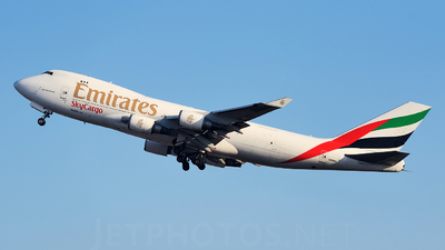 N408MC - Boeing 747-47UF(SCD) - Emirates SkyCargo (Atlas Air)