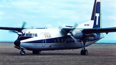 VH-TQP - Fokker F27-600 Friendship - Trans Australia Airlines (TAA)