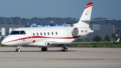 HB-JKG - Gulfstream G200 - Private
