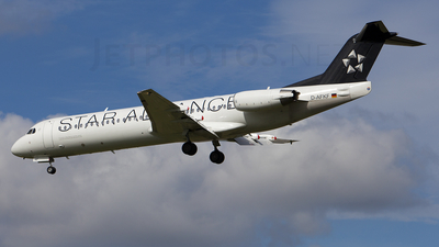 D-AFKF - Fokker 100 - Contact Air