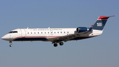 N202PS - Bombardier CRJ-200ER - US Airways Express (PSA Airlines)