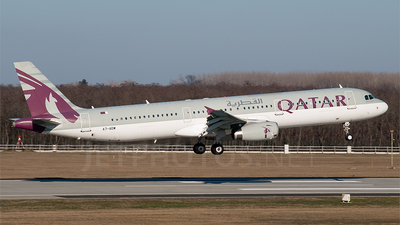 A7-ADW - Airbus A321-231 - Qatar Airways