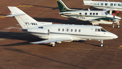 PT-WMA - Raytheon Hawker 800XP - Private