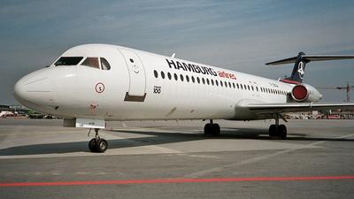 F-OGQA - Fokker 100 - Hamburg Airlines