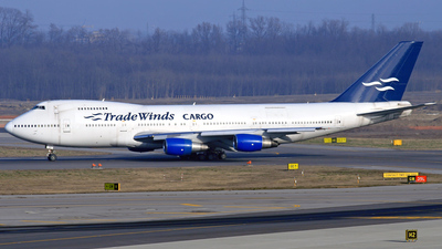 N531TA - Boeing 747-230B(SF) - TradeWinds Airlines