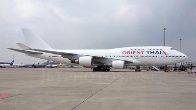 G-VTOP - Boeing 747-4Q8 - Orient Thai Airlines