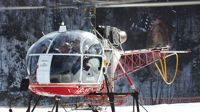 HB-XEO - Aérospatiale SA 315B Lama - Air Glaciers