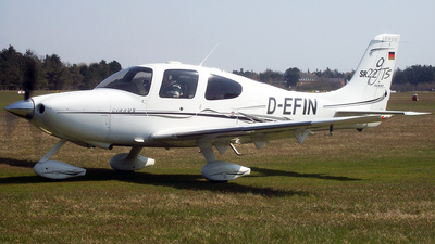 D-EFIN - Cirrus SR22-GTS - Private