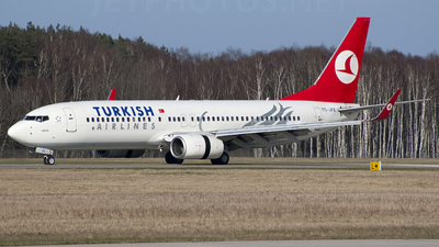 TC-JFE - Boeing 737-8F2 - Turkish Airlines