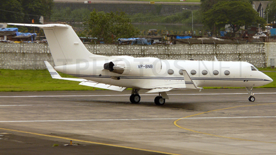 VP-BNB - Gulfstream G-IV(SP) - Jet Aviation Business Jets