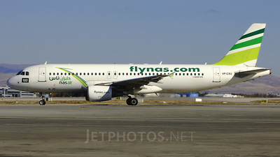 VP-CXU - Airbus A320-214 - Nas Air