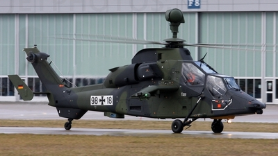 98-18 - Eurocopter EC 665 Tiger UHT - Germany - Army