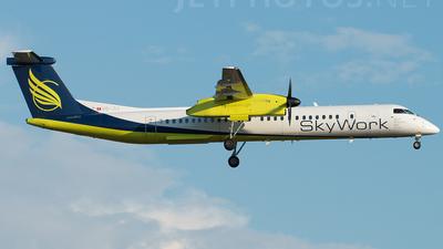 A picture of HBJIJ - De Havilland Canada Dash 8400 - [4184] - © Stefan Bayer