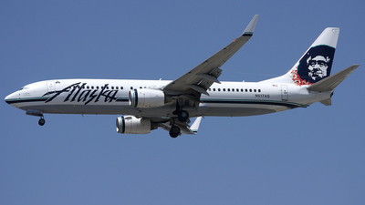 N517AS - Boeing 737-890 - Alaska Airlines