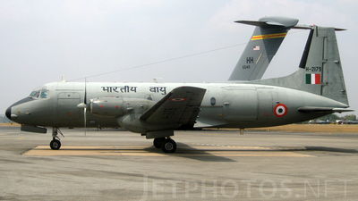 H-2179 - Hindustan Aeronautics HAL-748 - India - Air Force