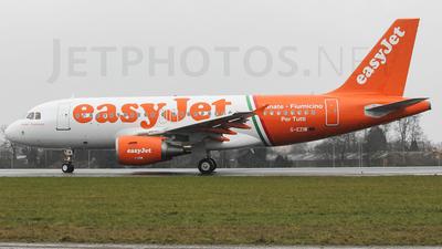 G-EZIW - Airbus A319-111 - easyJet