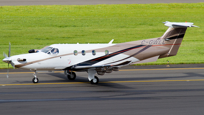 A picture of CGWEL - Pilatus PC12/47E - [1334] - © Russell Hill