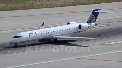 N512MJ - Bombardier CRJ-701 - United Express (Mesa Airlines)