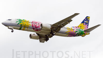 JA391K - Boeing 737-4Y0 - Skynet Asia Airways