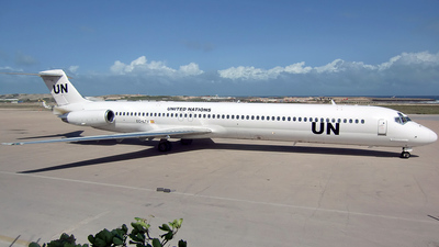 EC-LTV - McDonnell Douglas MD-83 - United Nations (Swiftair)