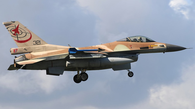 321 - Lockheed Martin F-16C Barak - Israel - Air Force