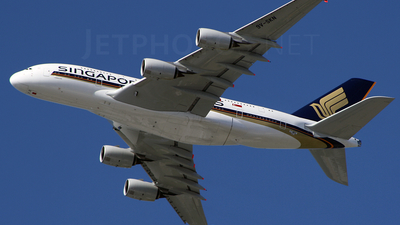 F-WWSX - Airbus A380-841 - Singapore Airlines