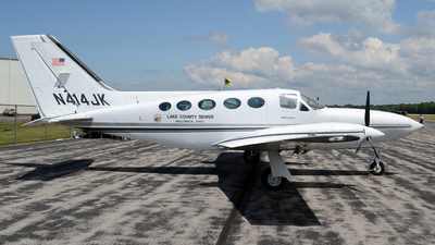 A picture of N414JK - Cessna 414A Chancellor - [414A0626] - © DJ Reed - OPShots Photo Team