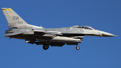 91-0369 - General Dynamics F-16C Fighting Falcon - United States - US Air Force (USAF)