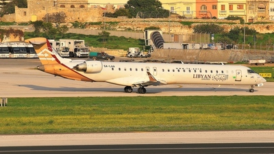 5A-LAA - Bombardier CRJ-900ER - Libyan Airlines