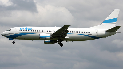 SP-ENE - Boeing 737-4Q8 - Enter Air