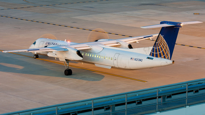 N213WQ - Bombardier Dash 8-Q402 - United Express (Colgan Air)