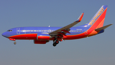 N442WN - Boeing 737-7H4 - Southwest Airlines